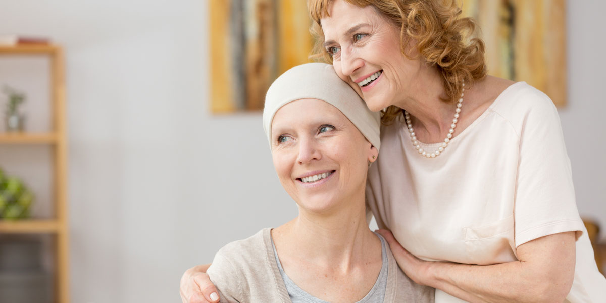 cancer patient and carer